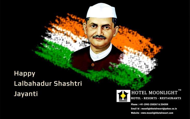 Happy Lalbahadur Shashtri Jayanti