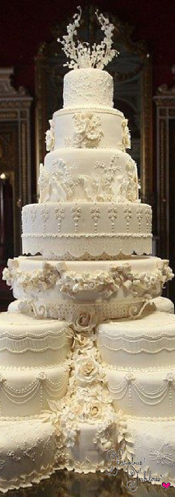 Frivolous Fabulous - Royal Wedding Cakes Frivolous Fabulous Trousseau