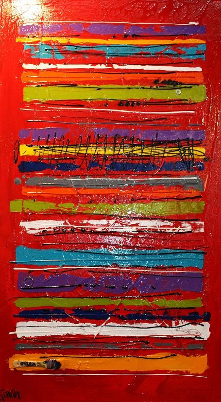 Code Barre | David Ferreira Artiste Peintre