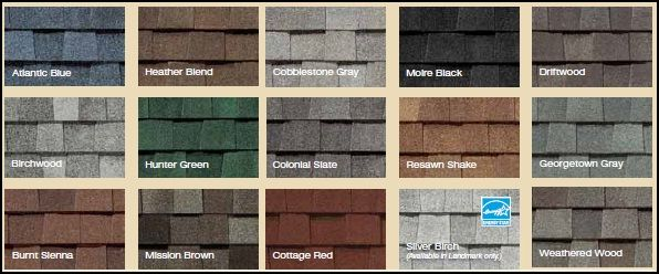 Certainteed Shingle Colors Cozart Lumber Amp Supply Located