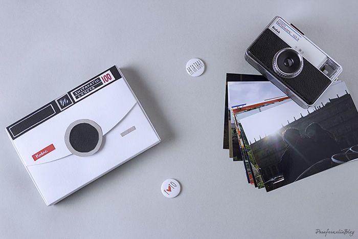DIY cajitas molonas para regalar fotos - Photo box gift