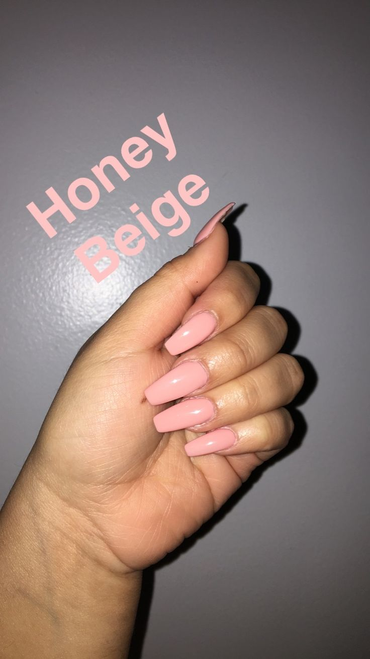 """DND no chip nail polish in the shade """"Honey Beige"""""""