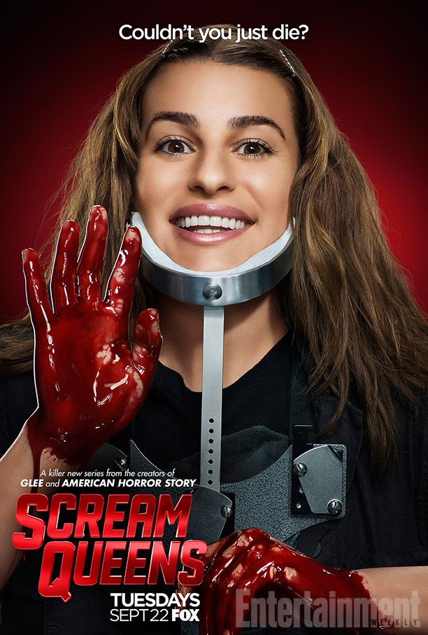 Scream Queens season 1 character posters feature Nick Jonas, Lea Michele, more | EW.com