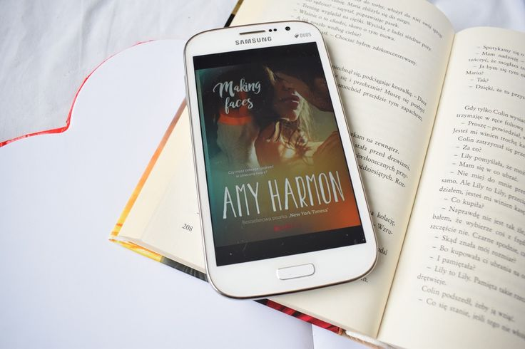 Reading my love: Amy Harmon, Making faces