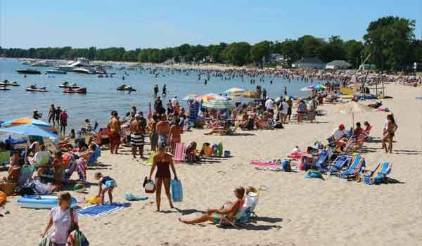 Crystalbeach In Ontario This Is What I Think Of When The Beach Not White Sands Crystal Clear Water Also Ironic That We Head