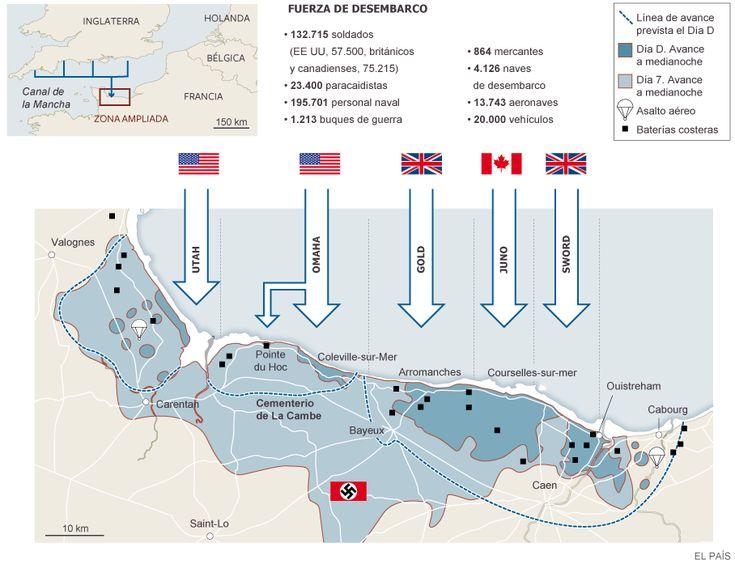 70 aniversario del #DesembarcodeNormandía | Media | EL PAÍS