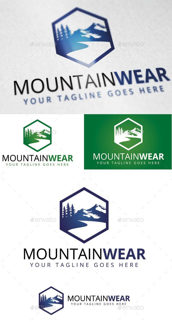 Mountain Wear - Logo Design Template Vector #logotype Download it here: http://graphicriver.net/item/mountain-wear-logo-template/9383316?s_rank=1620?ref=nesto