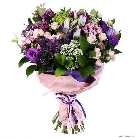 Bouquet «Purple Paradise»
