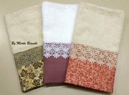 Resultado de imagem para toalhas de lavabo