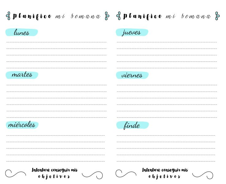 , pdf, descargar, gratis, imprimibles, printables, planning, diario ...