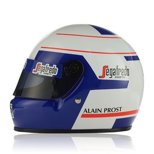 """""""Vodafone McLaren Mercedes"""" Prost Helmet 1985 (1:2) at McLaren Store"""