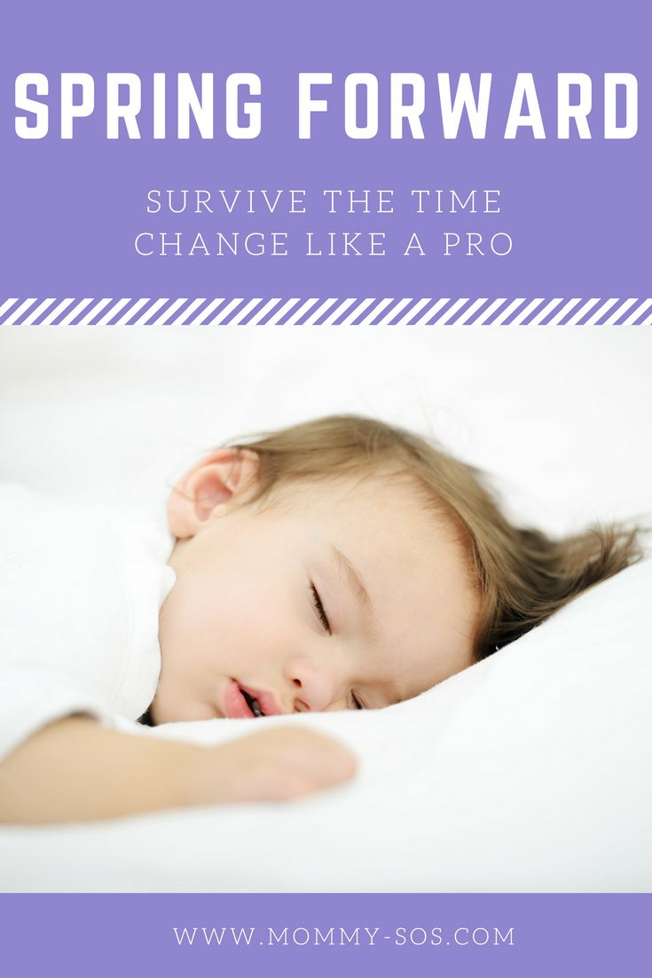 Survive the Time Change Like a PRO! #babysleep #parenting #newmom #springforward #dst