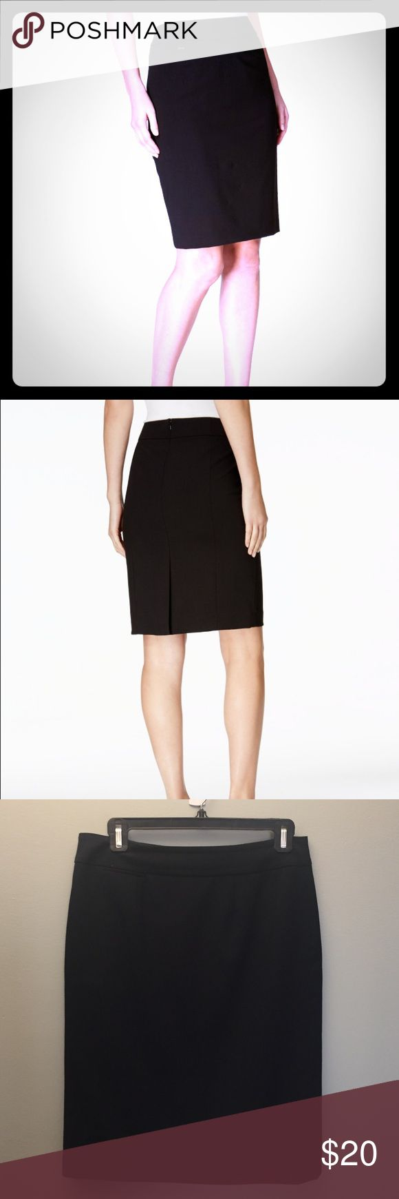 Calvin Klein Pencil Skirt The classic pencil skirt is essential to every woman's wardrobe & the perfect element to a versatile wardrobe. Calvin Klein Skirts Pencil