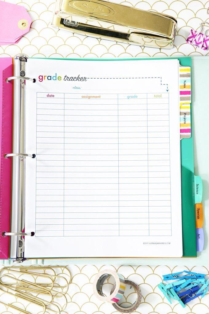Printable Student Binder | Best online courses