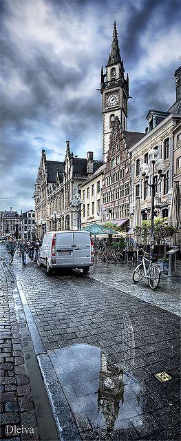 in Gent / Gante, Belgium  http://www.travelandtransitions.com/destinations/destination-advice/europe/