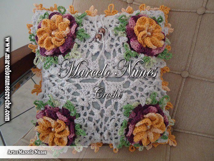 """Passo a Passo: flor Caracol por Marcelo Nunes ~ """"Crochê da Mimi"""""""
