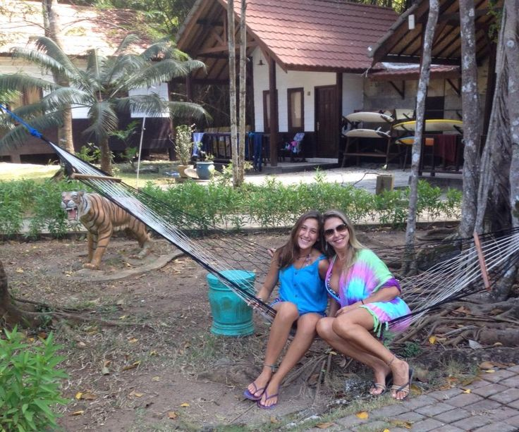Surfer Girl | enjoy the holiday with family at G-Land Joyos Surf Camp Indonesia