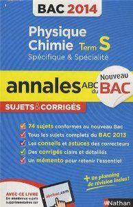Annales du bac de physique 2014.