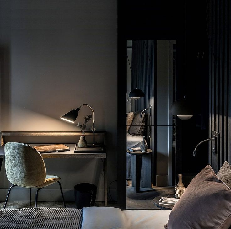 Mauritzhof contemporary Hotel in Munster Germany featuring Beetle Chair by @gubiofficial // Our showroom is open till 4pm today come in and view the Gubi range // FREE shipping in our online boutique. #urbancouturedesigns #architecture #interiorinspo #interiordesign #danishdesign