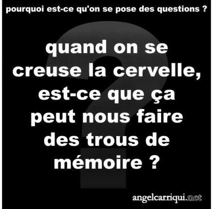 Angel Carriqui | je ne m'en souviens plus ...