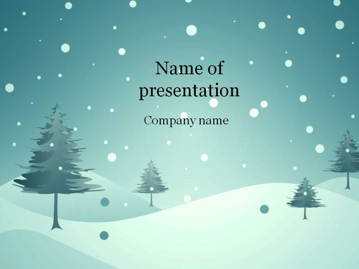 23 best PowerPoint images on Pinterest Presentation layout - winter powerpoint template