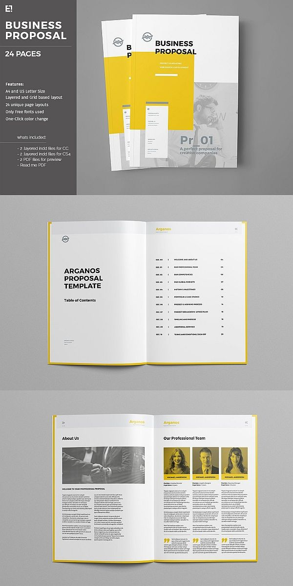 Proposal Booklet Design Proposal Business Proposal Template