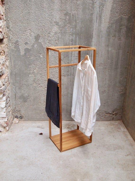 Autumn 2018 Modern Minimal Valet Stand Stummer Diener Herrendiener Clothes Butler Kleiderbutler In 2020 Valet Stand Clothes Stand Minimalism Interior