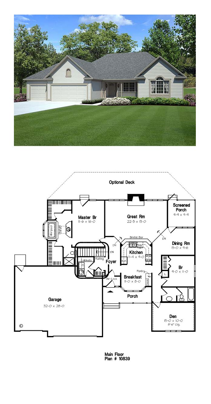 49 Best Images About Contemporary House Plan On Pinterest