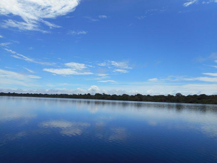 Rio Negro - espelho d'agua - by Claudia Duarte
