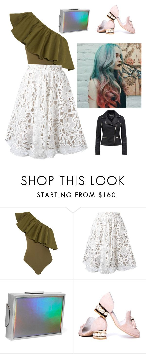 """""""Untitled #1941"""" by laiaespimonter ❤ liked on Polyvore featuring Alix, Alice + Olivia, Lee Savage and Jeffrey Campbell"""