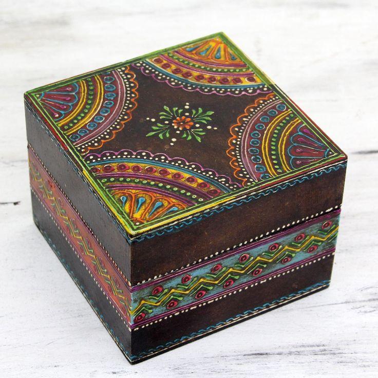 Wooden Decorative Boxes: Top 25+ Best Painted Boxes Ideas On Pinterest