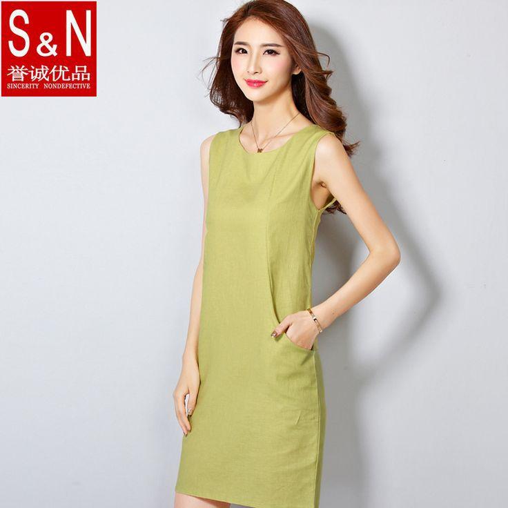 2015 stili di estate vestito dalle donne di modo lungo tee solid maglia  Cotone casuale stright vestito femminile più il formato s-2xl donne del vestito  Y32(China (Mainland))