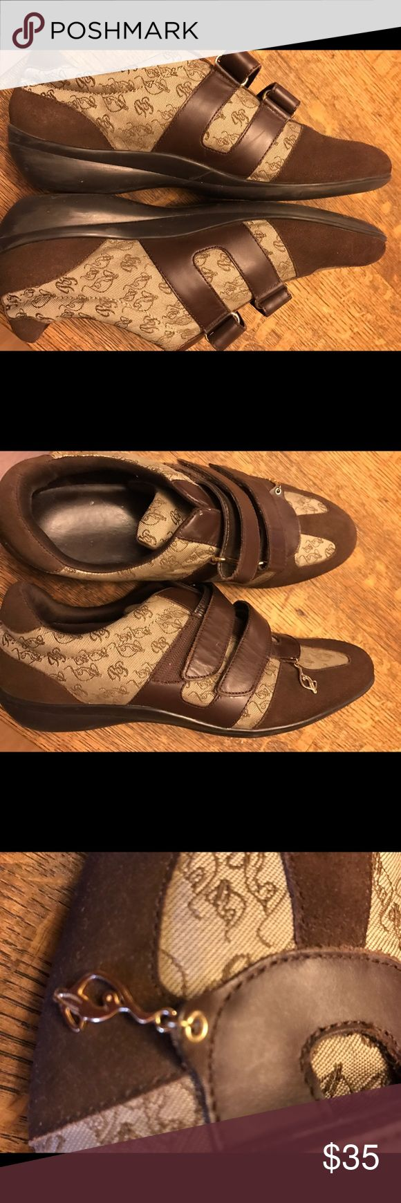 Fabulous Baby Phat Fashion Tennis Shoes 8.5 Like new. No signs of wear. Velcro for easy on & off. No trades at this time. Baby Phat Shoes Sneakers