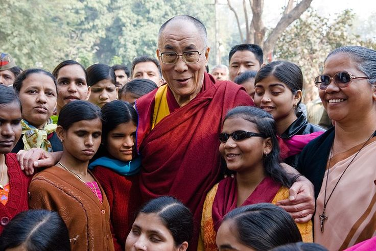 """Voices FOR Peace:  """"If you want others to be happy, practice compassion. If you want to be happy, practice compassion.""""  ~ Dalai Lama"""