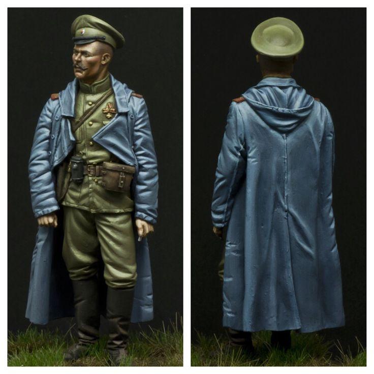 oficial ruso 1914 Víctor González
