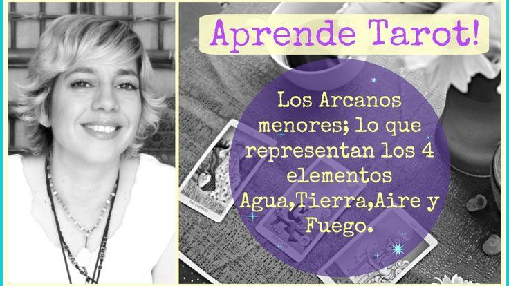 Aprende Tarot! Los Arcanos menores y la simbologia de los 4 elementos.