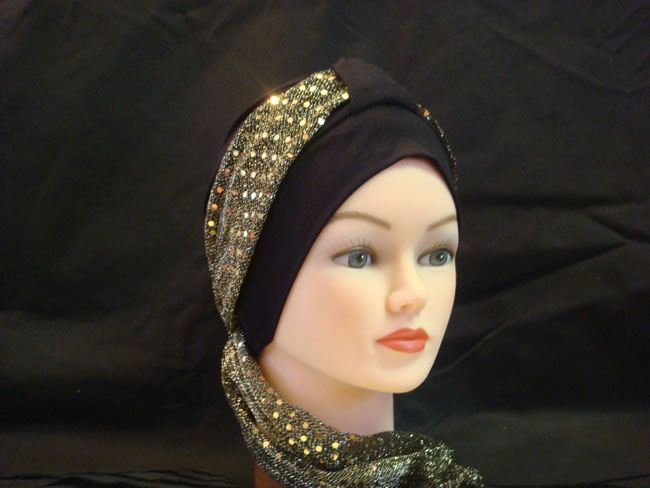 make hats for cancer patients | Head covers and head scarves for cancer patients and medical hair loss ...