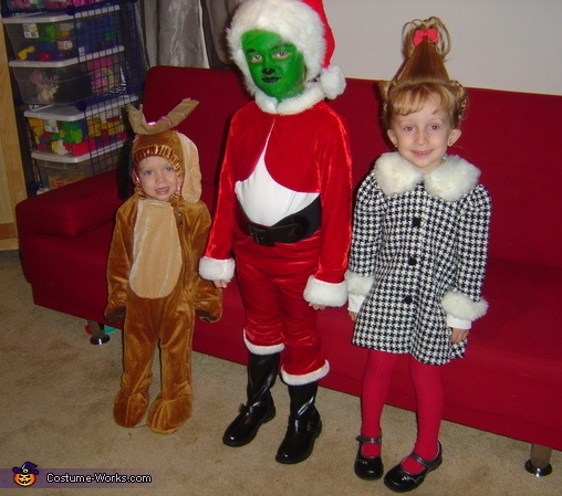 the grinch who stole christmas - Baby Grinch Halloween Costume