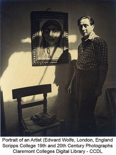 Portrait of an Artist (Edward Wolfe, London, England)