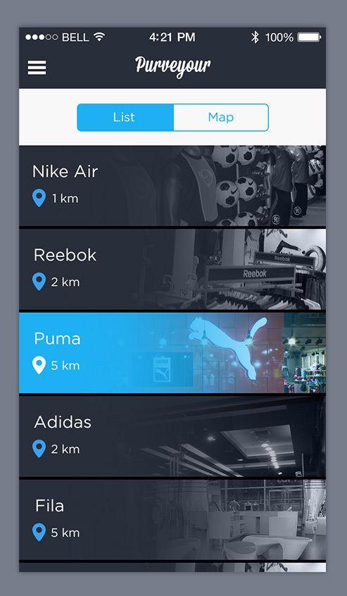 Purveyour Mobile UI by Agile Infoways