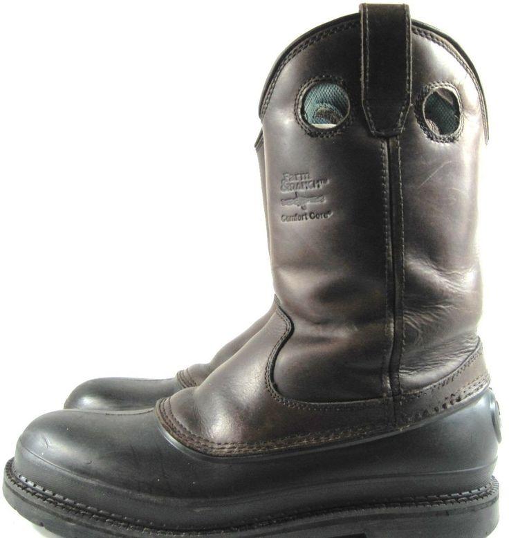 Georgia Boot Farm Ranch Boots Men Size 10M Brown Style G5514. YYY 13 #GeorgiaBoot #CowboyWestern