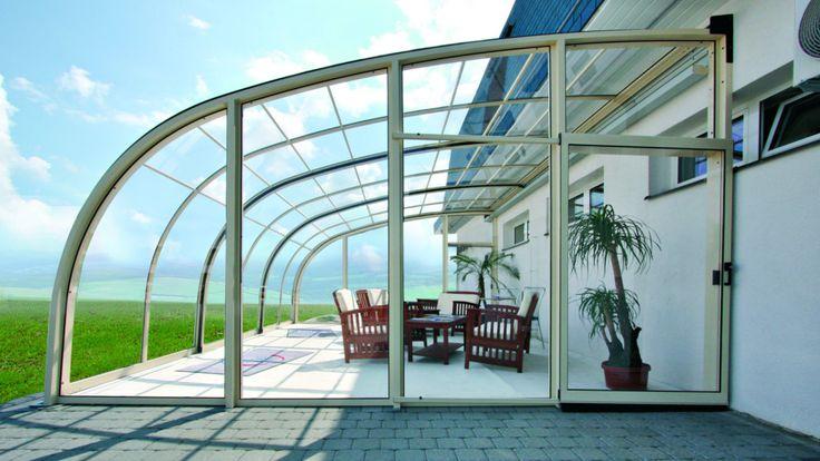 Patio enclosure CORSO ENTRY | Patio enclosures and pool enclosures