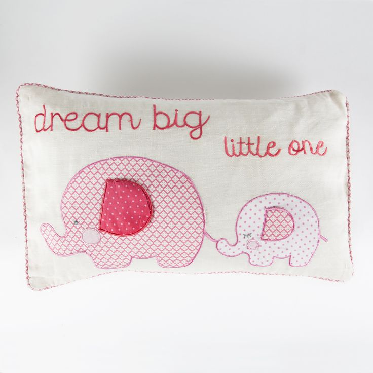 This beautiful Elliot Elephant Cushion in Blue is a lovely gift for a young child also in Blue