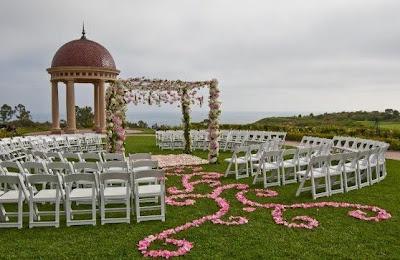 E Viva os Noivos: Decoração para Cerimonias de Casamento ao ar livre - fora da igreja !