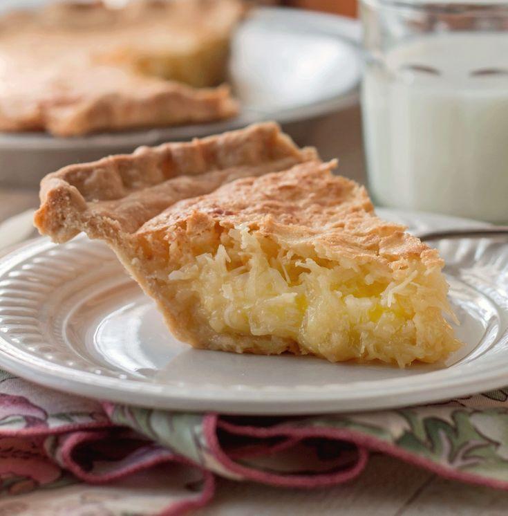 French Coconut Pie Trisha Yearwood Recipe Pies