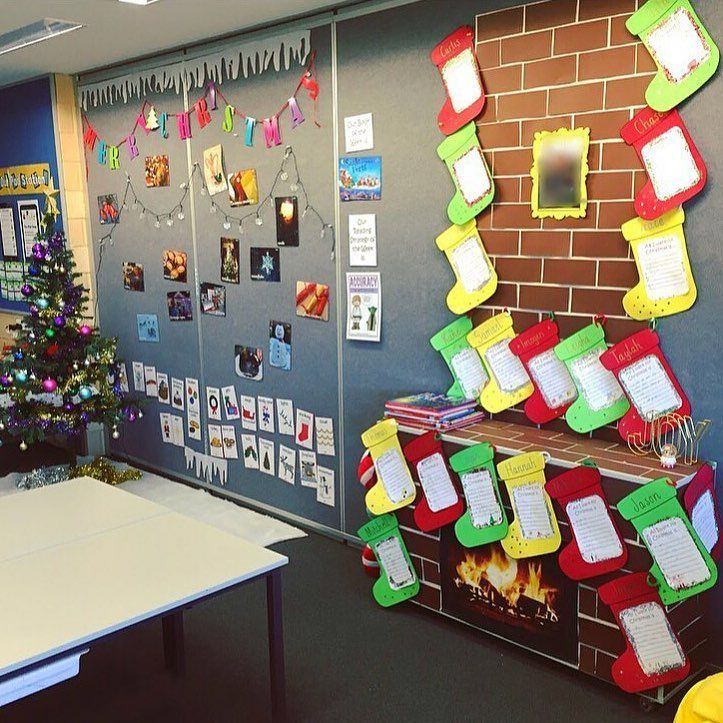 55 Innovative Christmas Classroom Decorations To Try Out This Winter Classroom Christmas Decorations Christmas Classroom Classroom Decorations