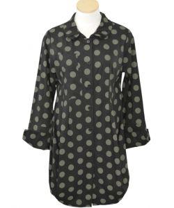 comfy usa tokyo polka dot shirt