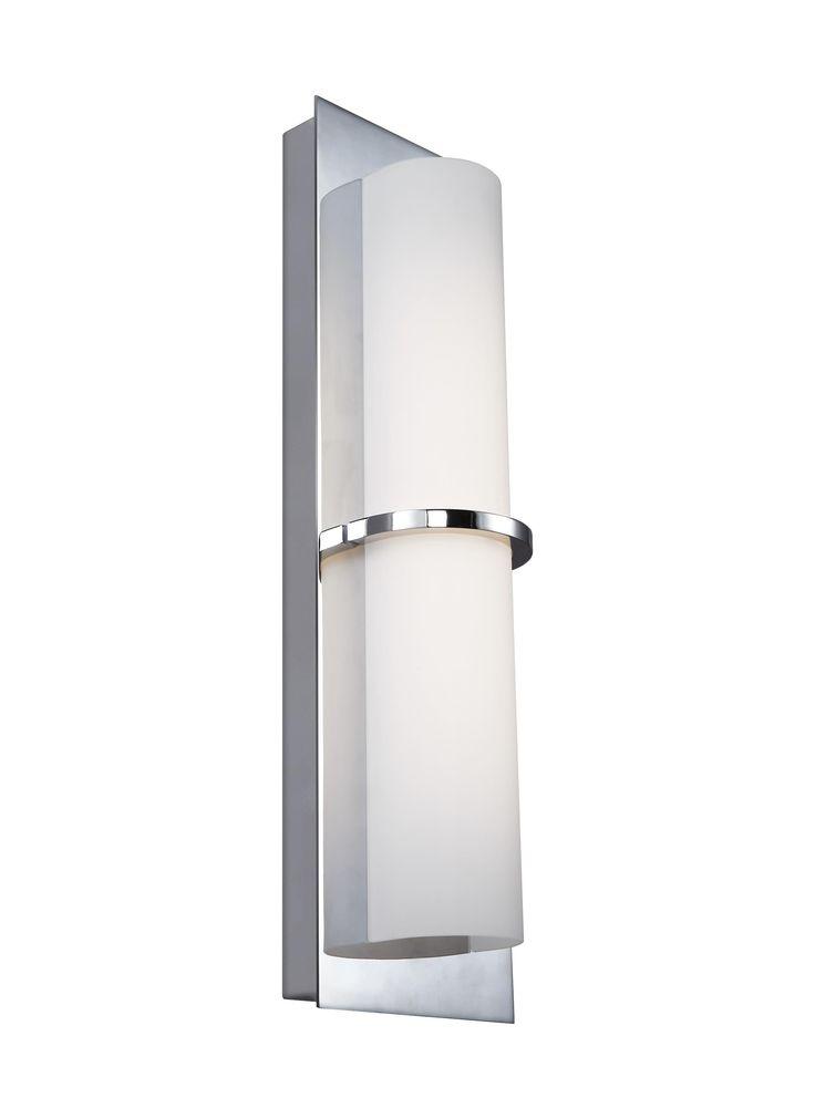 Elan 83702 Chrome Idril Led Wall Sconce Lightingdirect Com Led Wall Sconce Wall Sconces Sconces
