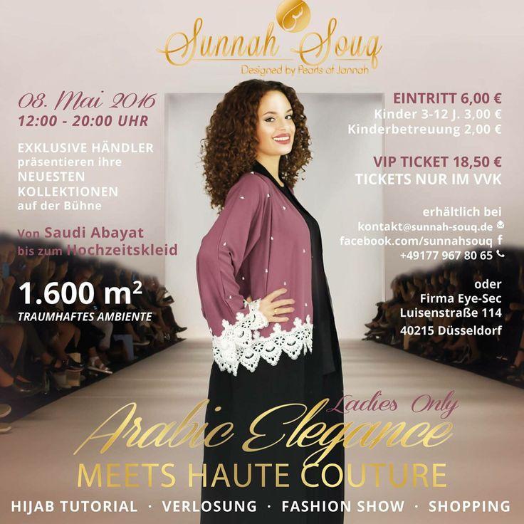 Sunnah Souq Event am 08.05.2016 in Düsseldorf