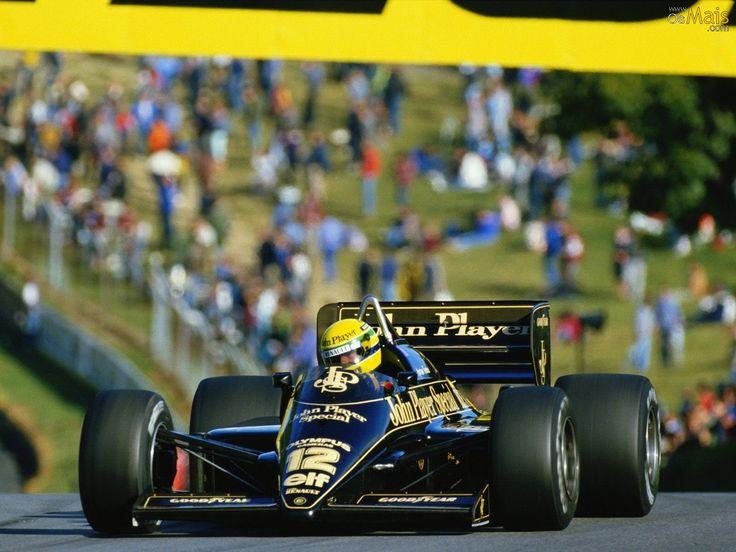 Ayrton Senna - 1985 Lotus F1
